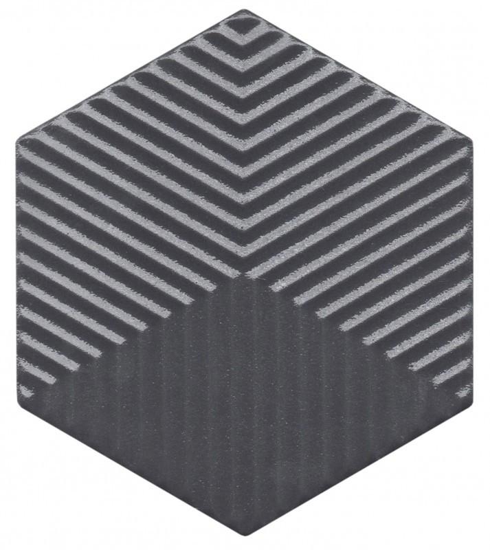 SE 61.001 (Hexa BK Lux) Bold / Brilho - Produtos - SENSE - Design em Cerâmica